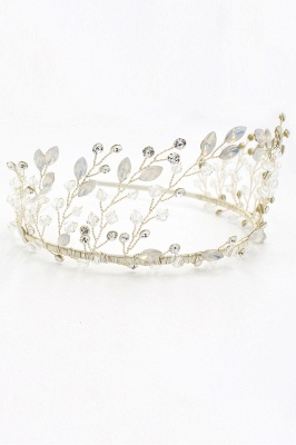 glamourous Alloy&Rhinestone Special Occasion &Wedding Hairpins Headpiece with Crystal_2
