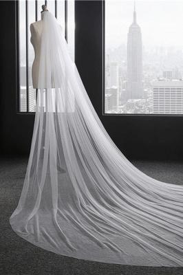 Princess Cute Lace Cut Edge 1.5*3M Wedding Gloves with Appliques_3