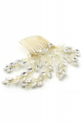 glamourous Alloy Party Combs-Barrettes Headpiece with Crystal_9