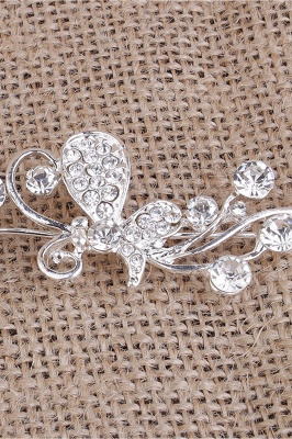 Elegant Alloy Special Occasion&Party Hairpins Headpiece with Rhinestone_1