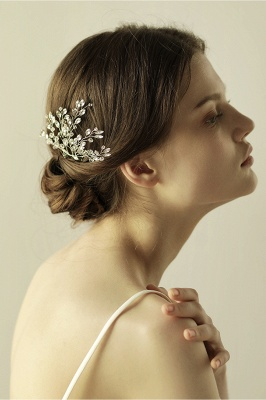 glamourous Alloy Party Combs-Barrettes Headpiece with Crystal_2