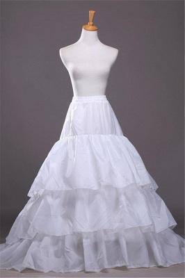 A-line Taffeta Scalloped Edge Event Petticoats