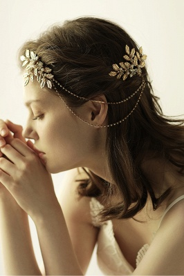 Lovely Alloy&Rhinestone Party Combs-Barrettes Headpiece with Imitation Pearls_2