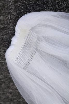 Princess Cute Lace Cut Edge 1.5*3M Wedding Gloves with Appliques_5