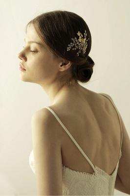 Elegant Alloy&Rhinestone Daily Wear Combs-Barrettes Headpiece with Crystal_3
