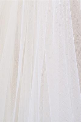 Elegant Tulle lace Applique Edge 3*1.5M Wedding Gloves_7