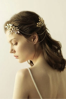 Lovely Alloy&Rhinestone Party Combs-Barrettes Headpiece with Imitation Pearls_6