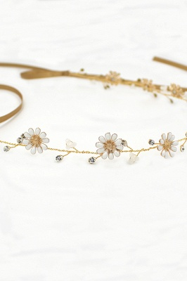 Floral  Alloy Party Headbands Headpiece with Rhinestone_10