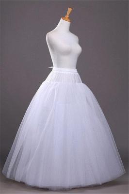 Cheap A-line Tulle Taffeta Wedding Petticoat_4