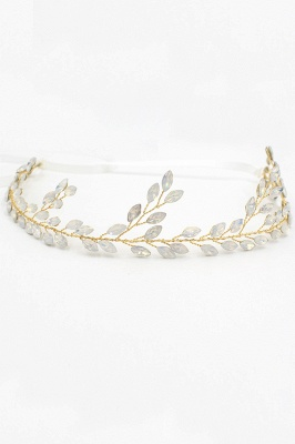 Glamourous Alloy Party Headbands Headpiece with Crystal_2