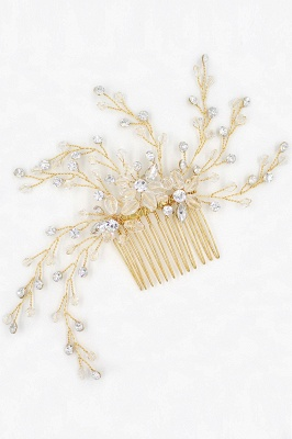 glamourous Alloy&Rhinestone Daily Wear Combs-Barrettes Headpiece with Crystal_10