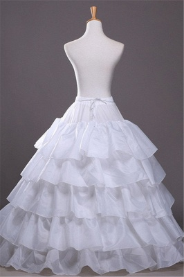 Cute Taffeta Scalloped Edge Ball Gown Party Petticoats_1