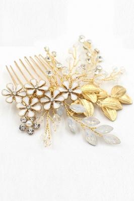 Elegant Alloy&Rhinestone Daily Wear Combs-Barrettes Headpiece with Crystal_9