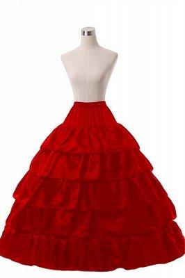Cute Taffeta Scalloped Edge Ball Gown Party Petticoats_2
