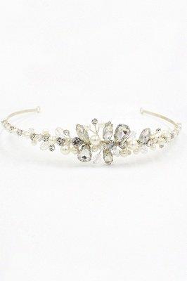 Elegant Alloy Imitation Pearls Special Occasion &Wedding Hairpins Headpiece with Crystal Rhinestone_9