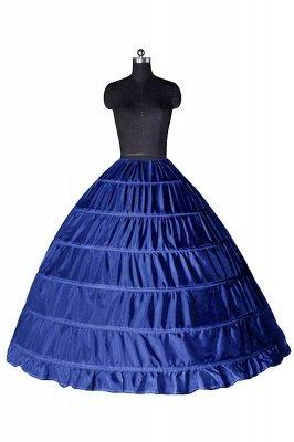 Colorful Taffeta Ball Gown Party Petticoats_7