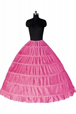 Colorful Taffeta Ball Gown Party Petticoats_3