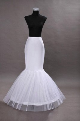 Glamorous Taffeta Mermaid Wedding Petticoats_1