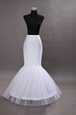 Glamorous Taffeta Mermaid Wedding Petticoats