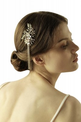 Beautiful Alloy Special Occasion Hairpins Headpiece with Rhinestone_2