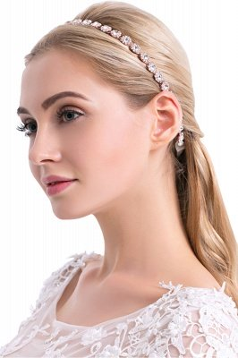 Cute Alloy Daily Wear Headbands Headpiece with Rhinestone_2