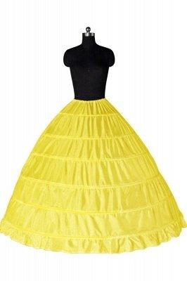 Colorful Taffeta Ball Gown Party Petticoats_5