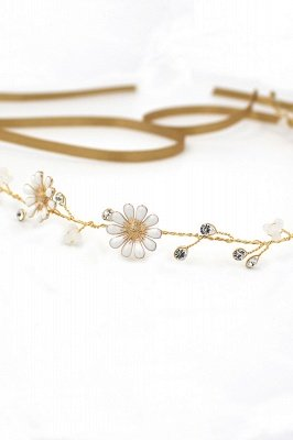 Floral  Alloy Party Headbands Headpiece with Rhinestone_11
