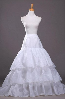A-line Taffeta Scalloped Edge Event Petticoats