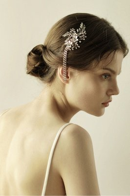 Beautiful Alloy Special Occasion Hairpins Headpiece with Rhinestone_5