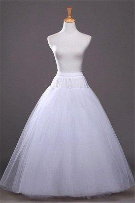 Cheap A-line Tulle Taffeta Wedding Petticoat