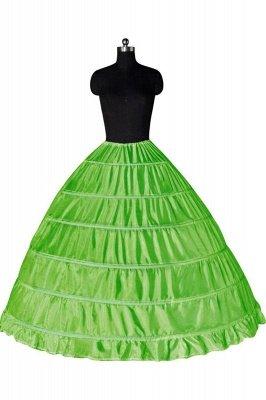 Colorful Taffeta Ball Gown Party Petticoats_9