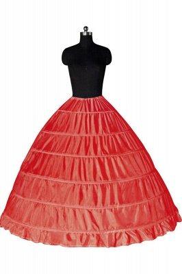 Colorful Taffeta Ball Gown Party Petticoats_2