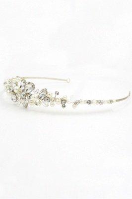 Elegant Alloy Imitation Pearls Special Occasion &Wedding Hairpins Headpiece with Crystal Rhinestone_10