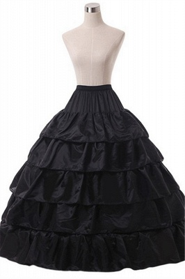 Cute Taffeta Scalloped Edge Ball Gown Party Petticoats_3