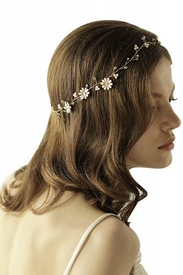 Floral  Alloy Party Headbands Headpiece with Rhinestone_1