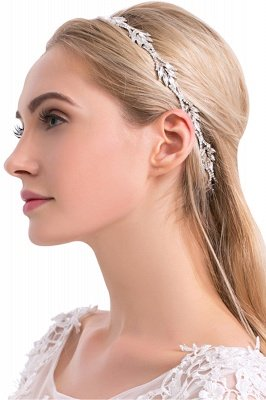 Elegant Alloy&Rhinestone Special Occasion&Party Headbands Headpiece with Crystal_2