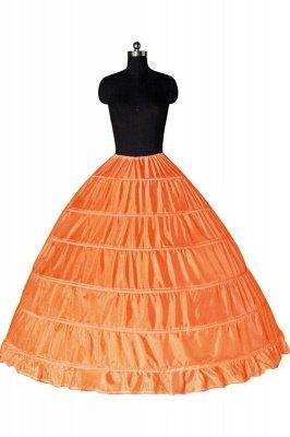 Colorful Taffeta Ball Gown Party Petticoats_4