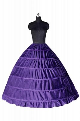Colorful Taffeta Ball Gown Party Petticoats_6