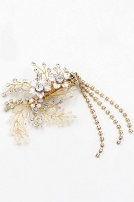 Beautiful Alloy Special Occasion Hairpins Headpiece with Rhinestone_9