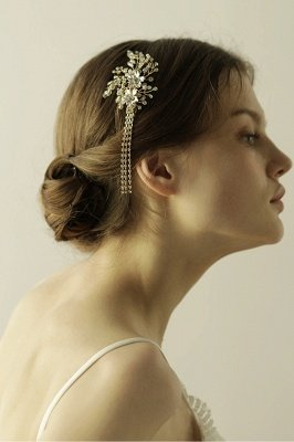 Beautiful Alloy Special Occasion Hairpins Headpiece with Rhinestone_6
