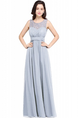 CHELSEA | Cheap Long Lace Prom Dress | Afforable Chiffon Lace Evening Dress_4