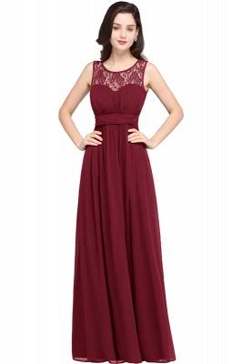 CHELSEA | Cheap Long Lace Prom Dress | Afforable Chiffon Lace Evening Dress_2