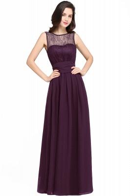 CHARLOTTE  Floor-length Black Chiffon Sexy Prom Dresses | Black Evening Dresses_2