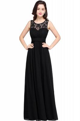 CHELSEA | Cheap Long Lace Prom Dress | Afforable Chiffon Lace Evening Dress_5