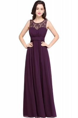 CHELSEA | Cheap Long Lace Prom Dress | Afforable Chiffon Lace Evening Dress_3
