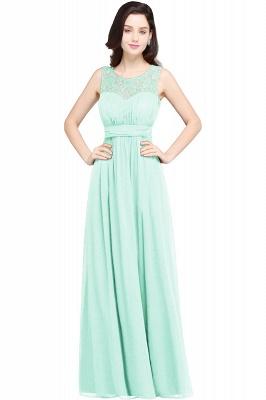 CHELSEA | Cheap Long Lace Prom Dress | Afforable Chiffon Lace Evening Dress_8