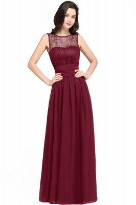 CHARLOTTE  Floor-length Black Chiffon Sexy Prom Dresses | Black Evening Dresses_1