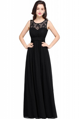CHELSEA | Cheap Long Lace Prom Dress | Afforable Chiffon Lace Evening Dress_7