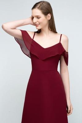 JULIANA | A-line Spaghetti Off-shoulder V-neck Long Chiffon Prom Dresses_15