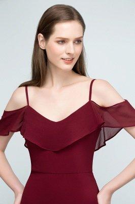 JULIANA | A-line Spaghetti Off-shoulder V-neck Long Chiffon Prom Dresses_13